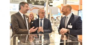 Messe formnext powered by tct 2016 - Besuch Staatsminister Al-Wazir Quelle: Mesago/Thomas Klerx